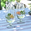 Thumbnail: Star etched Wine Glasses