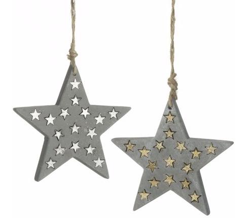 GOLD Concrete Star