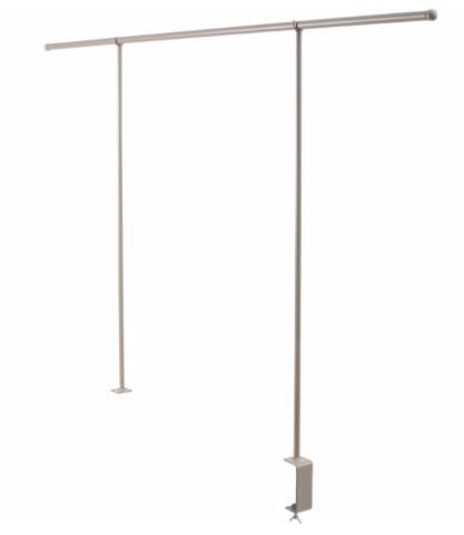 Table Display Rack White