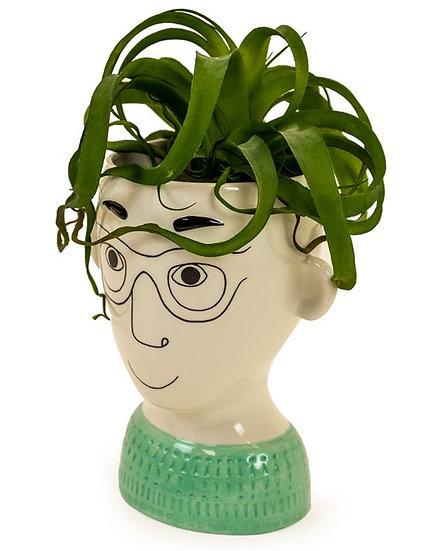 Mans Face Vase
