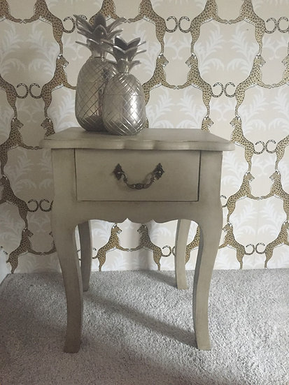 Distressed Bedside/SideTable