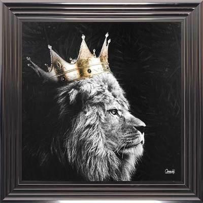 Lion Framed Wall Art