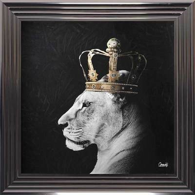 Lioness Framed Wall Art