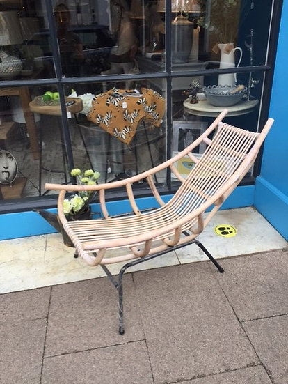 Lounge Wicker Chair