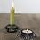 Thumbnail: Glass Candleholder Lt Green