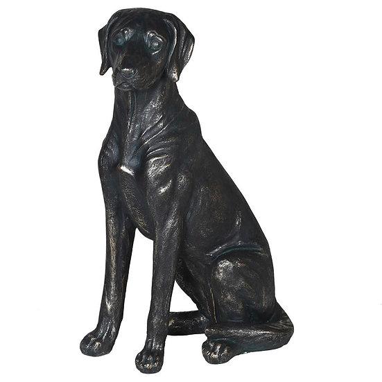 Resin Sitting Labrador