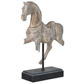 Distressed Horse on Stand