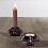 Thumbnail: Glass Candleholder  Amethyst