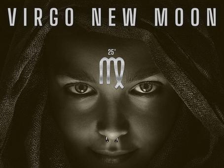 New Moon in Virgo. Clean Up your Act.