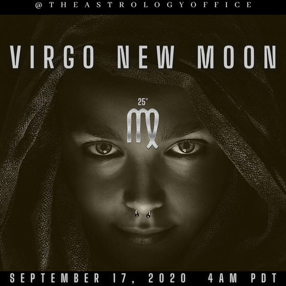 New Moon in Virgo. Clean Up your Act.