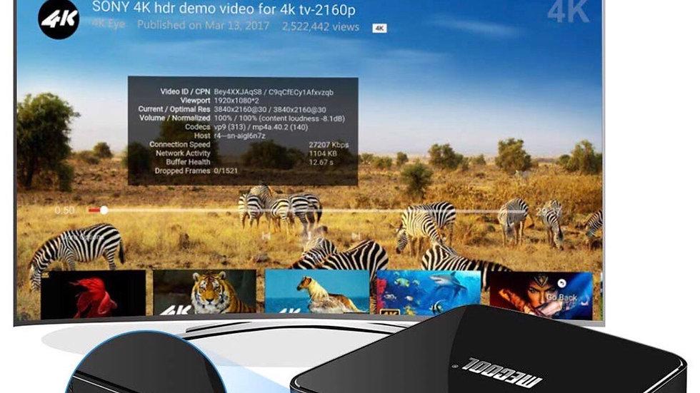 Android 7.1 Mini TV Box,4K Ultra HD Streaming Media Device