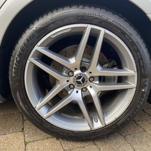 Wheels and rims cleaning