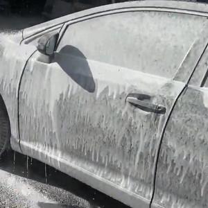 Toyota Venza Snow foam