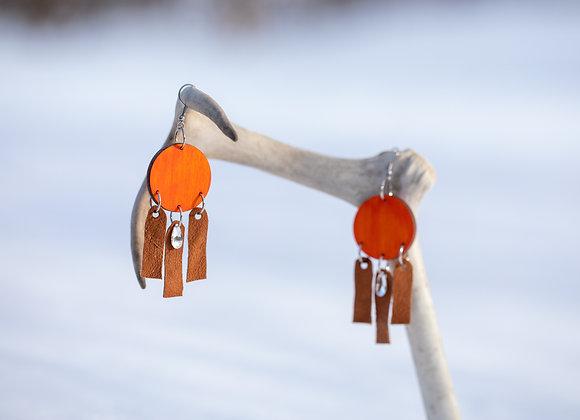 Korvakorut Illu (ilo) Poltettu oranssi