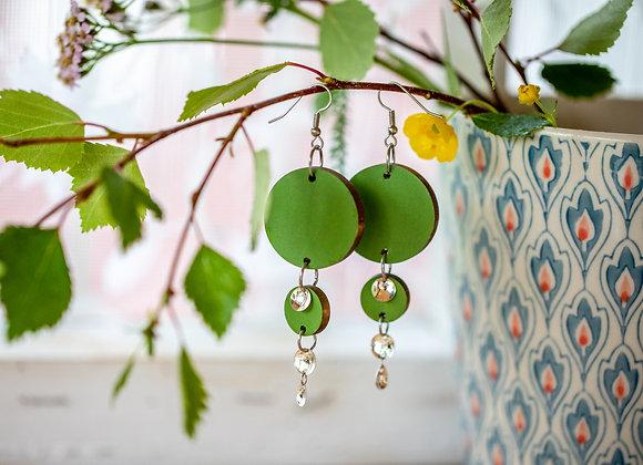 Korvakorut Buolaš (Pakkanen) Oliivinvihreä