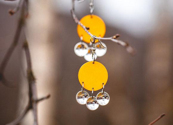 Korvakorut čakča (syksy) keltainen