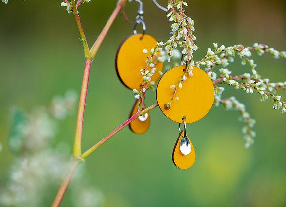 Korvakorut Arvi (vesisade) keltainen