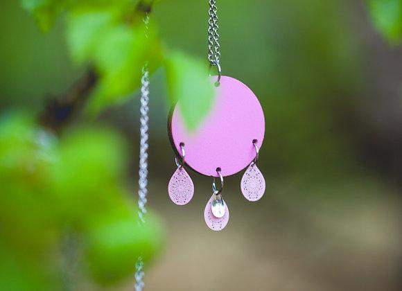 Kaulakoru Skilla (Helinä) Vaaleanpunainen