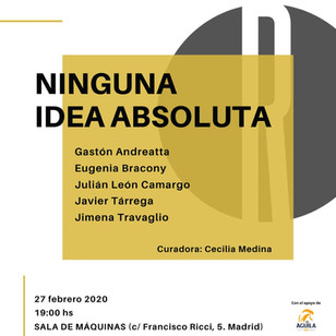NINGUNA IDEA ABSOLUTA