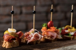 Tapas arrangement