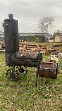 Smoker BBQ Zwart Vuur.JPG