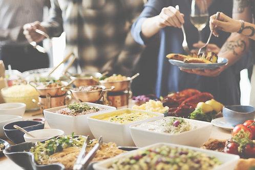Warm & koud buffet Traditioneel