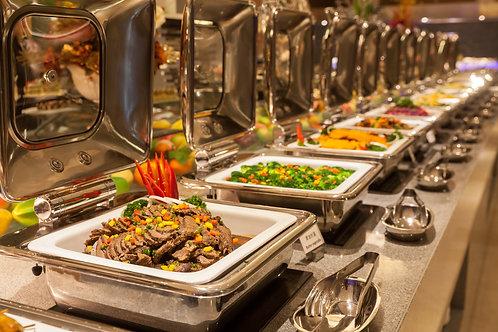 Warm & koud buffet De Luxe