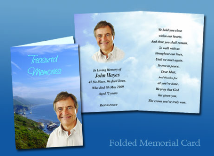 Folded Memory Cards