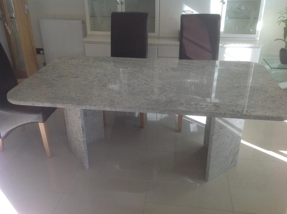 Deirdre Wade - Kashmir White Table
