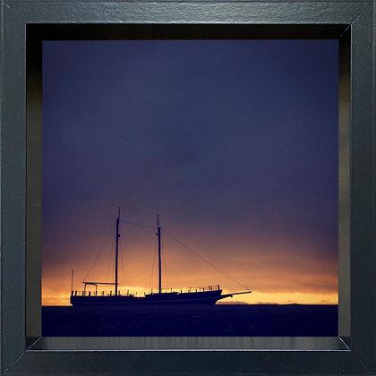 Untitled observation (#20) - framed