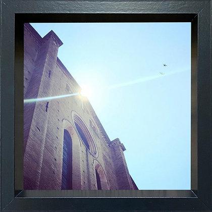 Untitled observation (#18) - framed