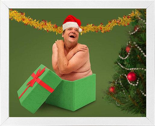 Mr December - framed