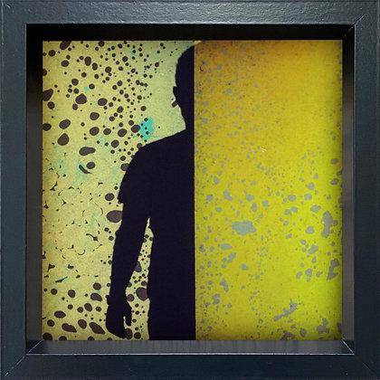 Untitled observation (#12) - framed
