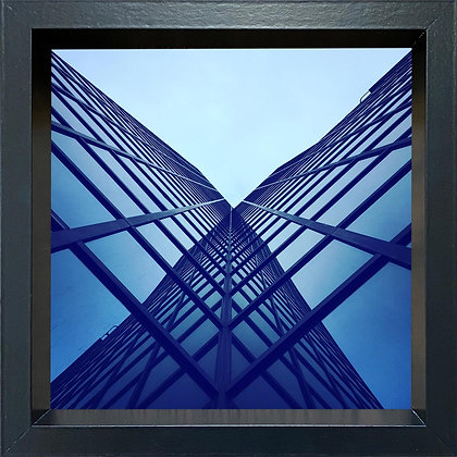 Untitled observation (#23) - framed