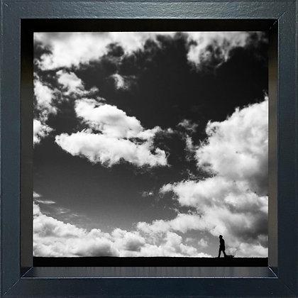 Untitled observation (#13) - framed