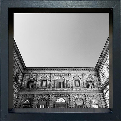Untitled observation (#01) - framed