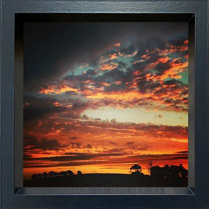 Untitled observation (#10) - framed