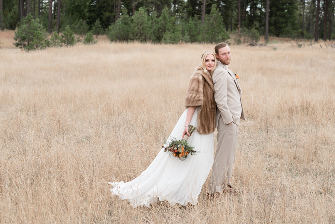 A Fall Wedding Styled Shoot at the Hitchin'Barn - WEDNI Members come together!