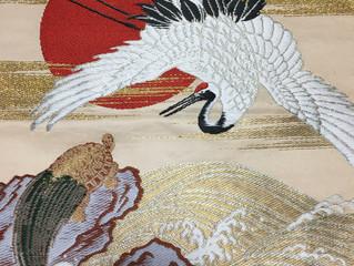 あぶらやの宿装飾-鶴と亀