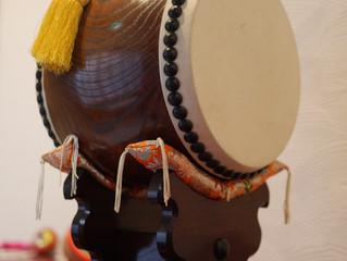 あぶらやの宿装飾-太鼓