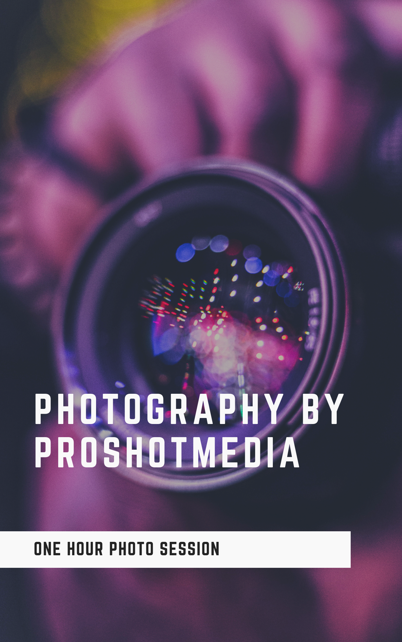 PHOTOGRAPHY ONLY
