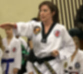 2nd degree black belt Aileen Peterkin-Barker