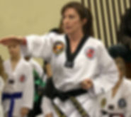 2nd degree black belt Aileen Peterkin-Barker
