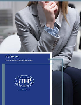 World English iTEP Intern