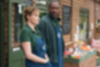 Broadchurch Series 3, Flintcombe Farm Shop, Lenny Henry & Sarah Parish