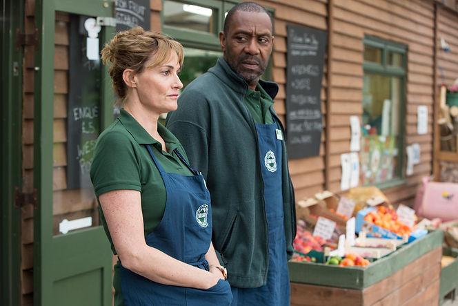 Broadchurch Series 3, Flintcombe Farm Shop, Lenny Henry & Sarah Parish