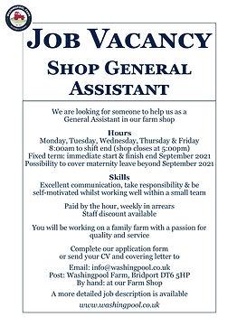 Job Ad - Shop General Assistant Jul21.jpg