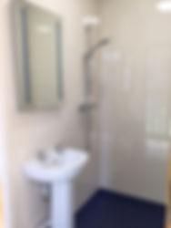 Washingpool Caravan Site shower room