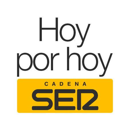 """Entrevista en el Programa de """"Hoy por hoy"""" de la Cadena Ser"""