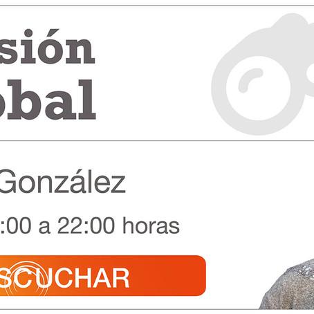 """Entrevista con Gema González en el programa """"Visión Global"""" de Intereconomia"""